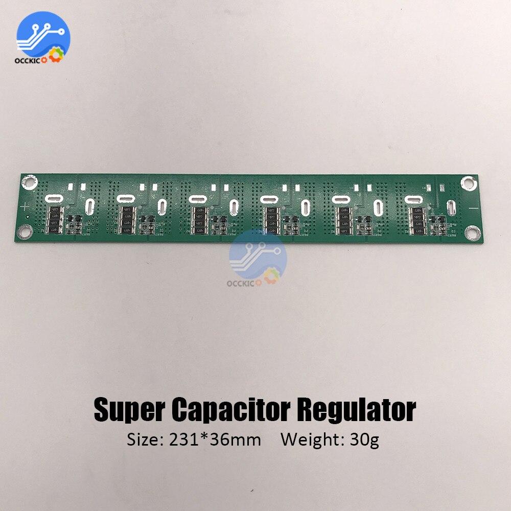 6 cuerdas 2,5 V-3 V 360-700F tablero de protección de equilibrio súper condensador 2,5 V-3 V 500F 400F 650F condensador equilibrado