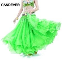 Oriental-Costume Dancewear Flamenco Gypsy Maxi-Skirts India Spanish Chiffon Women