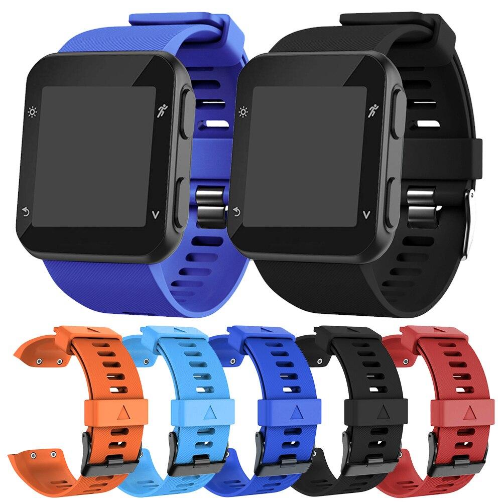 Watchband For Garmin Forerunner 35 Wriststrap Watch Band Strap Soft Silicon Watch Watchband Replacement Wrist Bracelet Strap