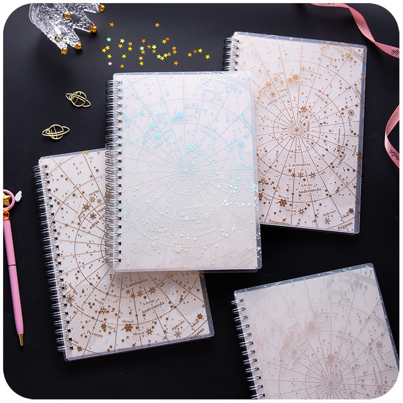 Best Discount 537a B5 Starry Sky Spiral Coil Notebook Lined