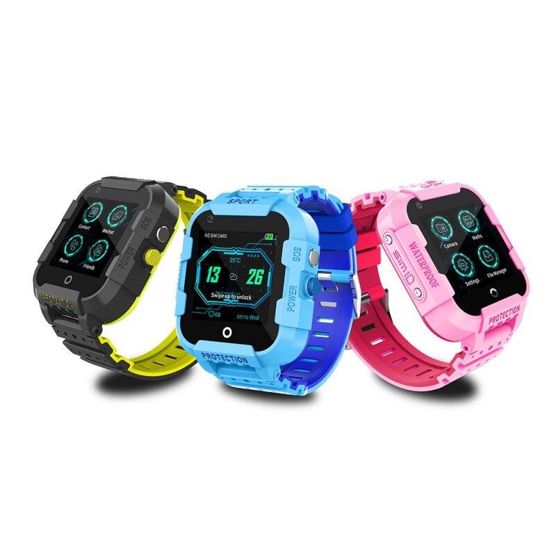 DF39Z 4G Kids Smart Watch GPS Wifi Tracker Smartwatch Touch Screen SOS SIM Phone Call Waterproof Children Camera Watch