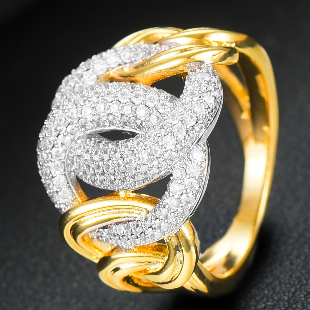 instrução para as mulheres zircão cúbico anéis