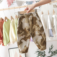 Trousers Baby Pants Toddler Autumn Boys Kids Casual Spring Elastic-Waist 0-5-Years Camouflage