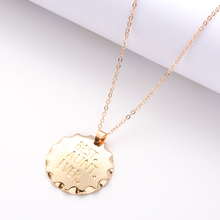 Minimalist Jewels Clavicle Gold Pendant Necklace Womens Dress Fashion Jewelry Geometric Charm Holiday Gift