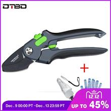 Gardening Pruning Shears Stainless Steel Scissors Grafting Fruit Branches Flower Trimming Tools Home Set