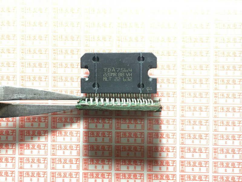 2 uds TDA7560 TDA7564 TDA7563 TDA7562 ZIP en existencia amplificador de potencia cuádruple multifunción con diagnósticos integrados características IC nuevo