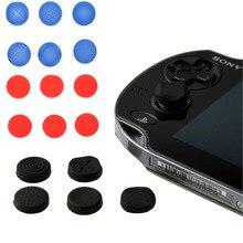 غطاء قبضة عصا التحكم من السيليكون 6 في 1 ، جراب واقٍ لجهاز Sony PlayStation Psvita PS Vita PSV 1000/2000 Slim