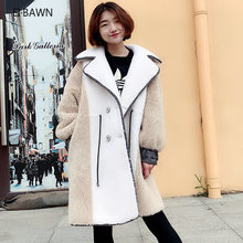2019 new grain wool coat suit collar Tuscan fur female