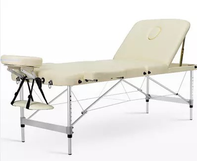 Adjustable Folding Massage Table With Bag Made Of PVC leather And Aluminum Alloy Leg 4