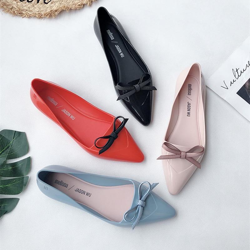 Women Flat Sandals Brand Melissa Shoes