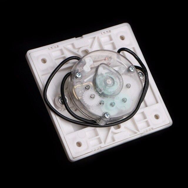 AC 220 V minuterie interrupteur pompe de contrôle mécanique compte à rebours interrupteur 30/60/120 Minutes