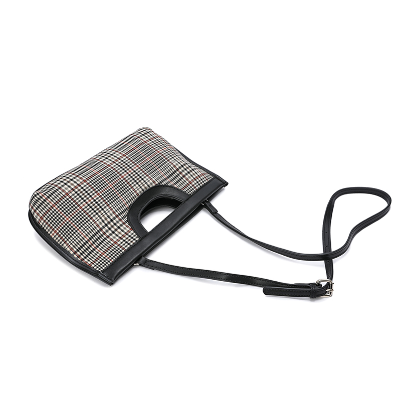 2020 New Small Women Houdstooth Bags Brand Design Ladies Handbags Check Female Day Clutches Plaid Woman Crossbody Shoulder Bag