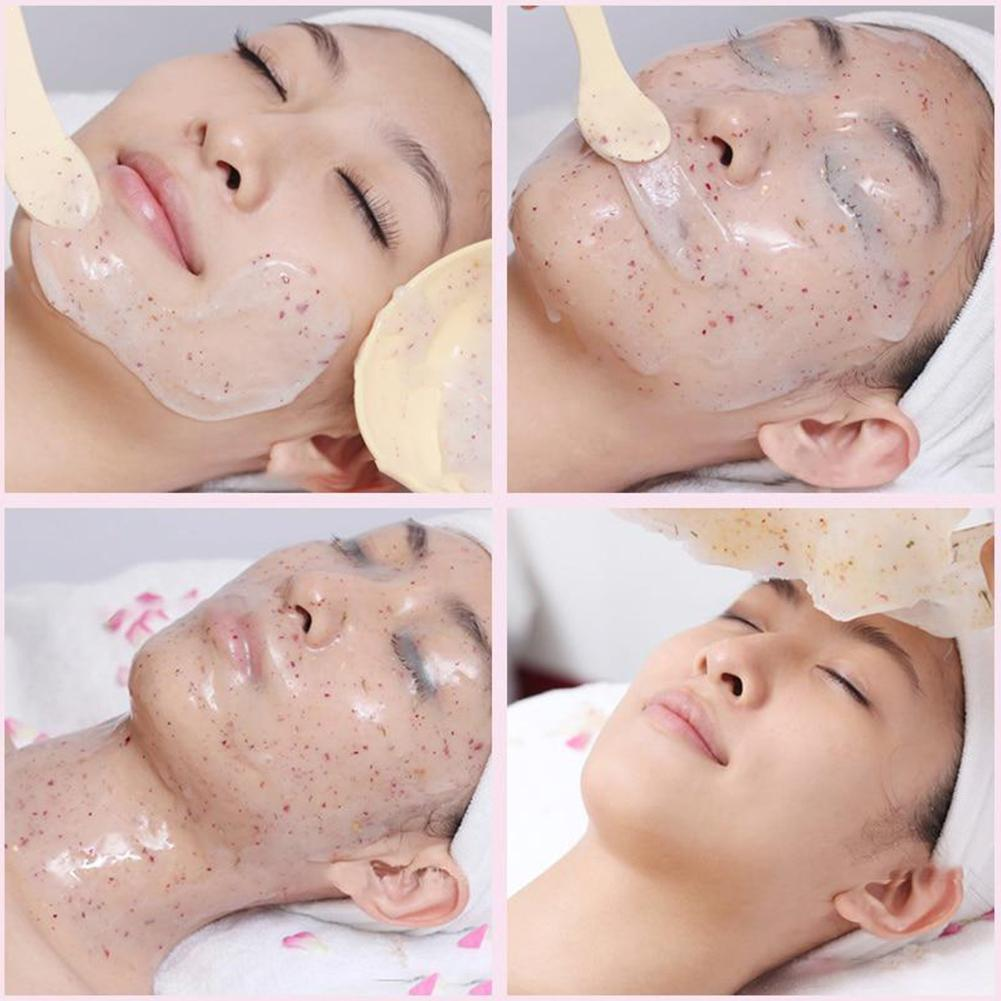 Natural SPA Rose Facial Peel Off Mask Powder Face Mask Powder Powder Oil-Control Acne Whitening Mask Care Skin Anti-aging C O8G7