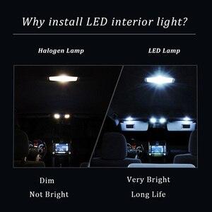 Image 5 - Tpke 13 pces smd lâmpadas livre de erro para 2008 2011 mercedes clc cl203 amg completo led luzes interiores kit mapa cúpula tronco luva caixa luz
