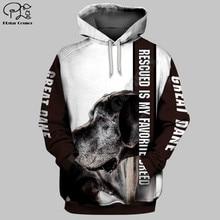 Animal dog 3d Printed Unisex hoodies hip hop Fashion Hooded Sweatshirt zip hoodies men for women drop shipping