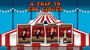 A Trip to The Circus by George Iglesias & Twister Magic,Magic Tricks(China)
