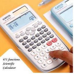 Новый FX-991ES-C оригинальный научный калькулятор 471 функций для школы офиса два способа солнечной энергии и батареи