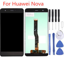 LCD Display Touch Screen Digitizer Assembly For Huawei Nova Display TFT Screen Replacement(China)