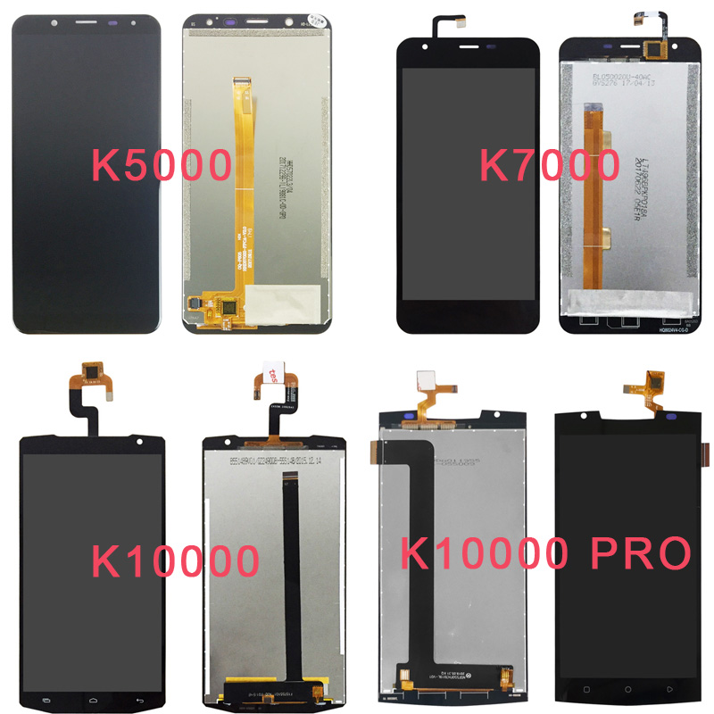 For <font><b>OUKITEL</b></font> K4000 Lite <font><b>K5000</b></font> K6000 Plus K7000 K10000 Pro LCD <font><b>Display</b></font>+Touch Screen Digitizer Panel Glass Assembly Complete image