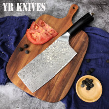 High Quality Cleaver Butcher Knife VG10 Stainless Steel Kitchen Tool Chopping Knifves Cooking Sharp Chef knife EDC Home Tools(China)