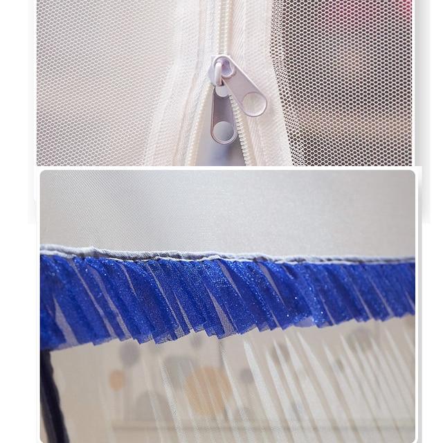 Купить 4 размера складывающаяся москитная сетка для одиночной двойной картинки цена