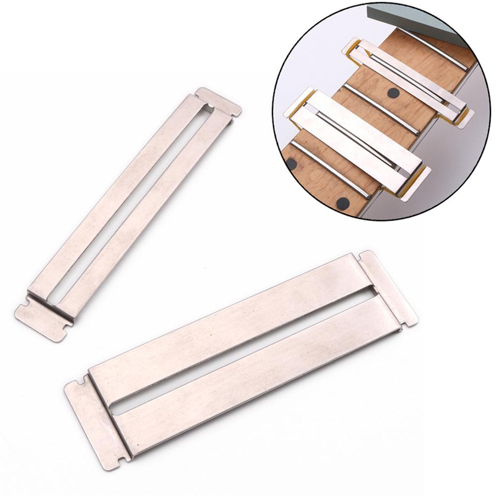 Guitar Fret Wire Sanding Stone Protector Kit Finger Plate Radian Polishing DIY Luthier Tool Bass Parts & Accessories