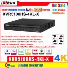 Dahua XVR XVR5108HS 4KL X 4K H.265 / H.264 IVS Smart Suchen bis zu 5MP Unterstützt HDCVI/AHD/TVI/CVBS/IP video eingänge PSP DVR