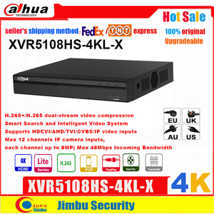 Image 1 - Dahua XVR5108HS 4KL X XVR 4K H.265/H.264, búsqueda inteligente hasta 5MP, compatible con HDCVI/AHD/TVI/CVBS/entradas de vídeo IP, PSP DVR