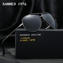 2017 metal frame Designer Polarized Sunglasses For Men fashi