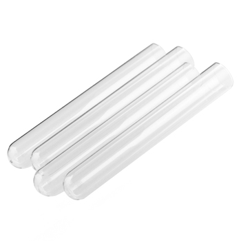 50pcs/lot 15*100mm Laboratory Test Tube Empty Clear Glass Test Tube Test Tube   Usage Lab Implement, Medical Consumables, glass test tube corked bottle 15ml tube with flat bottom 27 50mm wishing glass bottle home storage jars for flower 50pcs lot