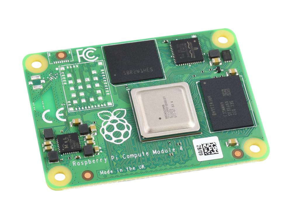 Raspberry Pi Compute Module 4, The Power Of Raspberry Pi 4 In A Compact Form Factor, No WIFI Module, 2GB RAM, Options for EMMC