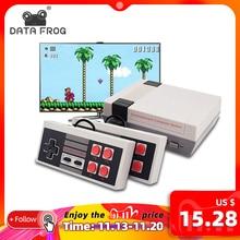 DATA FROG consola de juegos Retro de 8 bits con 620 juegos integrados, Consola de Videojuegos TV, reproductor de juegos portátil, el mejor regalo, envío gratis