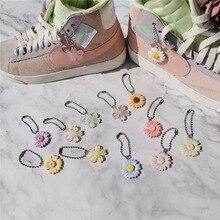 1шт DIY цветы башмак цепи украшения для девочек и Детская обувь аксессуары тенденции творческие декоративные шнурки обувь аксессуары