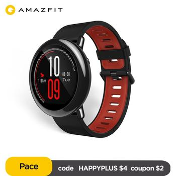Original Amazfit Pace Smartwatch Amazfit Smart Watch Bluetooth GPS Information Push Heart Rate Intelligent Monitor