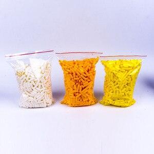 Image 4 - 1000/adet 00 # 3 # boş kapsül bitki kapsül kabuk yenilebilir nişasta kapsül boş kapsül dolu boş kapsül kabuk