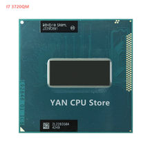Бесплатная доставка, процессор INTEL CPU I7-3720QM CPU SR0ML I7 3720QM SROML 2,6G-3,6G/6M HM75 HM77