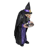 Halloween Mall Arrangement Butler Housekeeper Family Electric Illuminated Voice Control Ghost Bar Terrorist Props