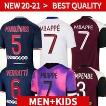 Novo kit de crianimentas 20 21 ps camisa mfasi neymar qualidade superior cavani vertopi dani alves di maria icardi kean 2021 ca