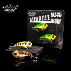 2019 NEW MZ45 Metal Vibration blade bait wobbler vib lure fishing artificial tackle for trout bass perch pike crappie baits 2pcs