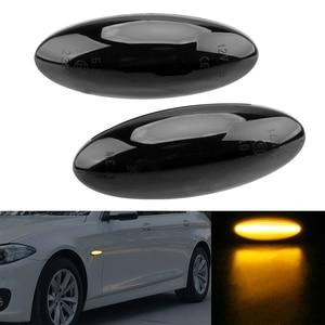 Image 2 - Turn Signal Light A Pair For Toyota Yaris COROLLA Auris Mk1 E15 RAV4 Mk3 Blinker Light LED Car Dynamic Side Marker Signal Lamp