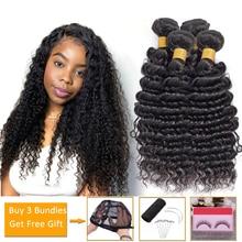 оптовые дешевые 100% 25 человеческие волосы пучки предложения глубокие волны пучки не реми волосы наращивание перуанские бразильские волосы плетение пучки