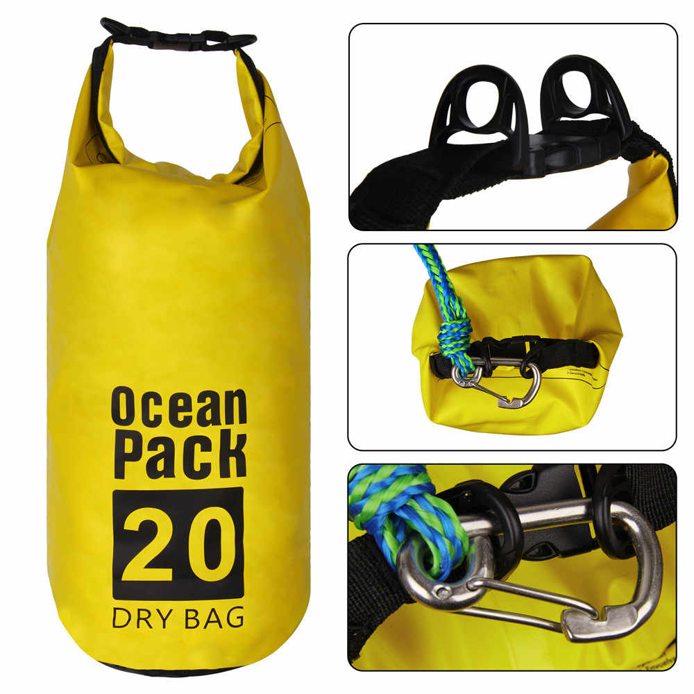 Schlepptau seil Sand Sack 2-in-1 Sand Anchor & Wasserdichte Trocken Tasche Dock linie für Kajak, jet Ski, Rudern, Kleine Boote