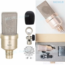 NEW TLM-102 Large Diaphragm Studio Condenser Microphone For Recording Network PC Stage Sing Cardioid Mic Not Neumann high performance miniature condenser vertical microphone super cardioid mic set for choir group chorus studio stage 1 7m height