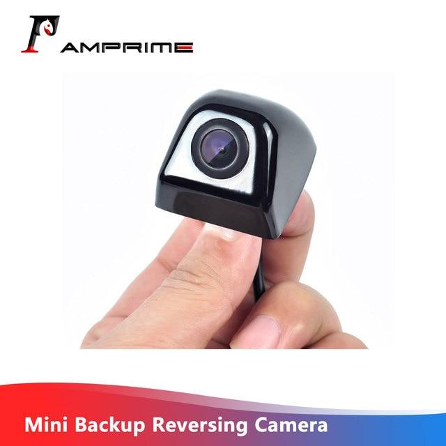 AMPirme รถด้านหลังกล้องด้านหลังกล้อง Park Monitor CCD HD Mini ย้อนกลับกล้องย้อนกลับที่จอดรถ Reverse Assistance