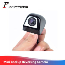 AMPirme vista trasera de coche cámara de visión trasera de coche monitor para estacionar CCD HD Mini cámara de marcha atrás aparcamiento asistencia inversa