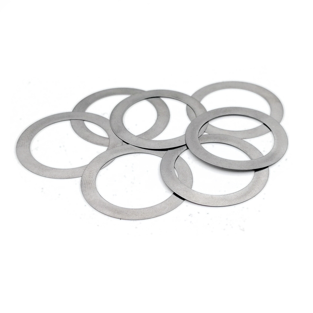 CHENHAN Flat washers 100PCS Stainless Steel Flat Washer Ultrathin Gasket Thin Shim M14 M15 M16 M17 M18 Hard Inner Diameter : 15x21x1