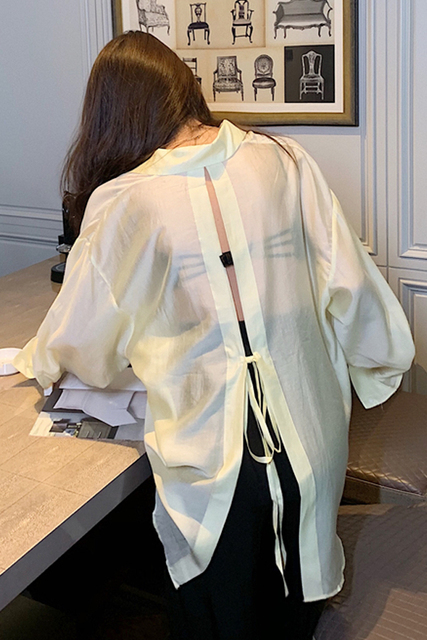 New  Blouse  Women Shirt   Long-sleeved thin section Tops   Ladies BL055 3