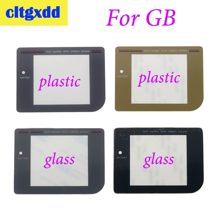 Cltgxdd Screen Lens Cover For Nintendo Gameboy Game Boy DMG For GB Display Screen Protector Lens Plastic Glass