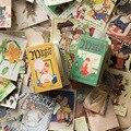 Винтажная Волшебная книга, 100 листов/упаковка, блокнот с темой, ретро портативный блокнот, альбом для скрапбукинга, Diy Декор, бумага, мини-бло...
