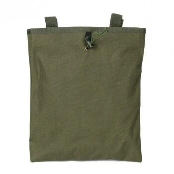Molle revista táctica bolsa de caída bolsa grande ejército militar accesorios cintura bolsa caza Airsoft arma recuperación munición Mag bolsas